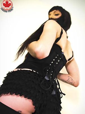 Introducing a Canada TS exclusive model, Gina Ferrara!