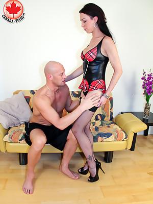 TS Danika Dreamz is a bonafide Tgirl porn superstar.